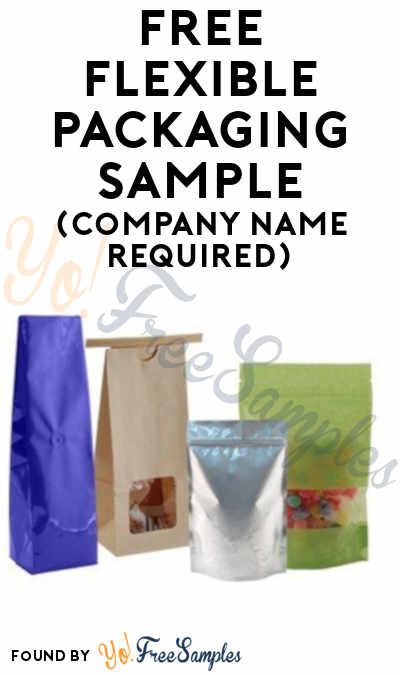 FREE Flexible Packaging Sample (Company Name Required)