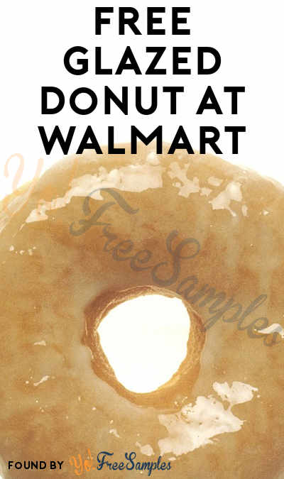 FREE Glazed Donut At Walmart On June 1st
