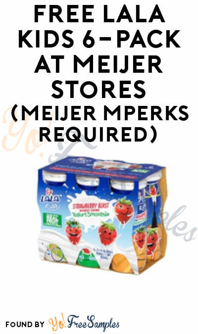 FREE LALA Kids 6-Pack At Meijer Stores (Meijer mPerks Required)