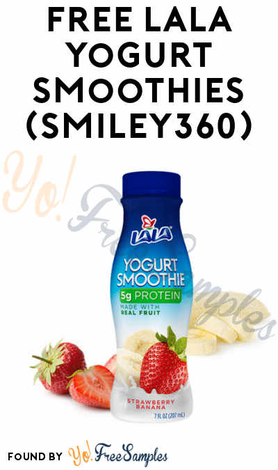 FREE LALA Yogurt Smoothies (Smiley360)