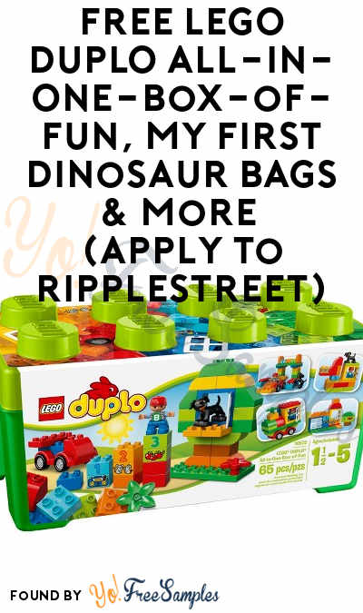 FREE LEGO DUPLO All-in-One-Box-of-Fun, My First Dinosaur Bags & More (Apply To RippleStreet)
