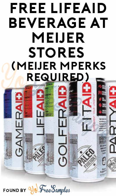 FREE LIFEAID Beverage At Meijer Stores (Meijer mPerks Required)