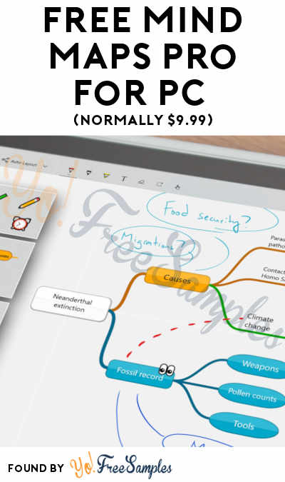 FREE Mind Maps Pro For PC (Normally $9.99)