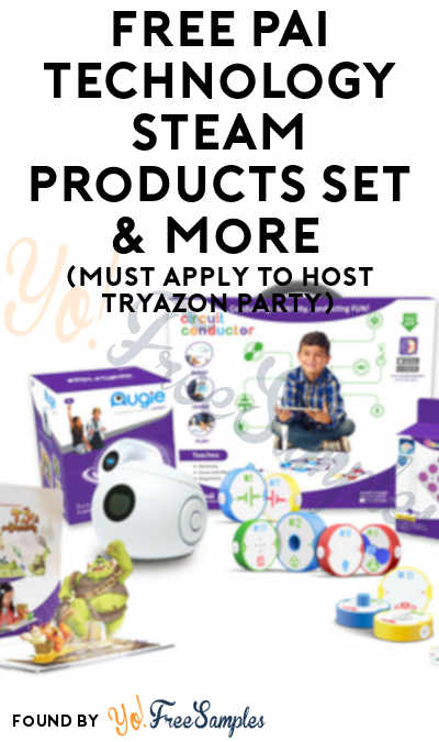 FREE Pai Technology STEAM Products Set & More (Must Apply To Host Tryazon Party)