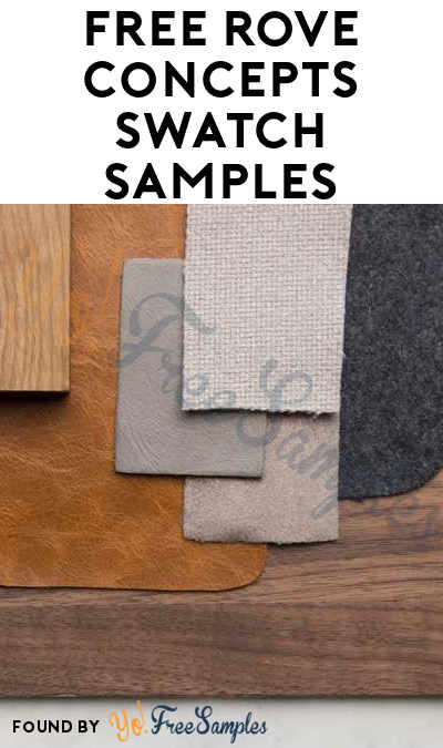 FREE Rove Concepts Swatch Samples