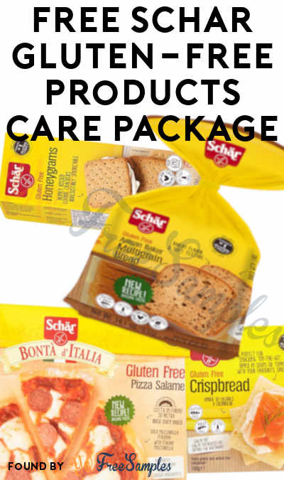 Win A FREE Schär Gluten-Free Products Care Package