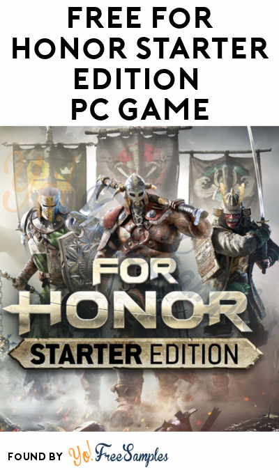 FREE For Honor Starter Edition PC Game Download (Ubisoft Account Required)