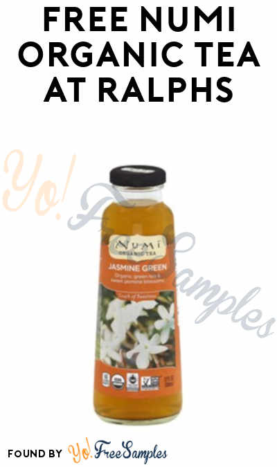 FREE Numi Organic Tea Coupon At Ralph's