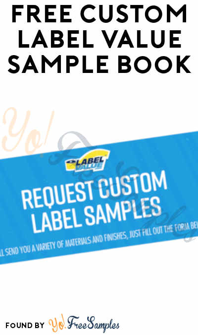 FREE Custom Label Value Sample Book