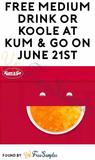 FREE Medium Drink or Koole At Kum & Go On June 21st