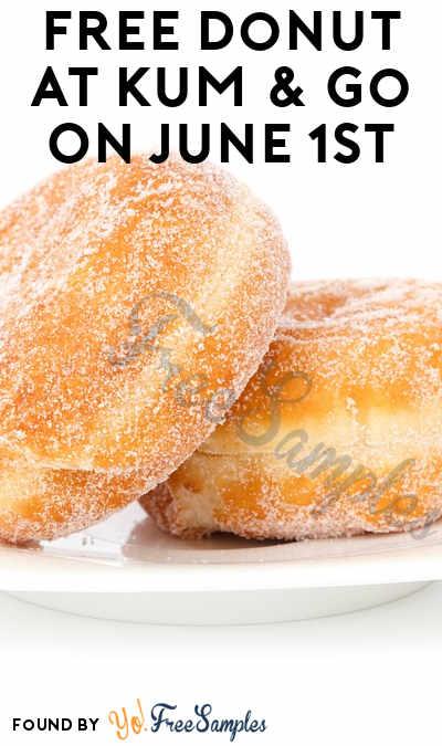FREE Donut At Kum & Go On June 1st