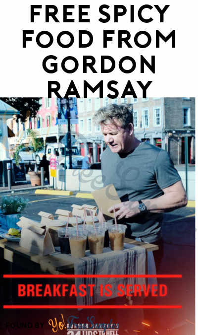 FREE Spicy Food From Gordon Ramsay + GoFooji (Select Areas + Twitter Required)