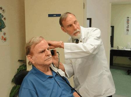 hearing aid exam