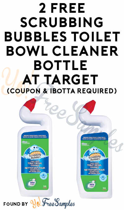2 FREE Scrubbing Bubbles Toilet Bowl Cleaner Bottle At Target (Coupon & Ibotta Required)
