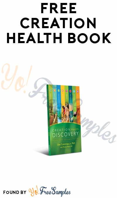FREE Creation Health Book
