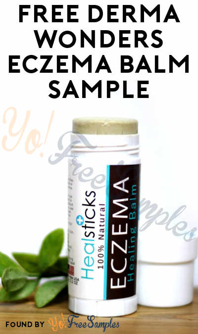 FREE Derma Wonders Eczema Balm Sample