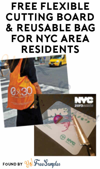 FREE Flexible Cutting Board & Reusable Bag For NYC Area Residents