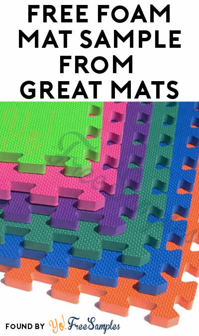 FREE Foam Mat Sample From Great Mats