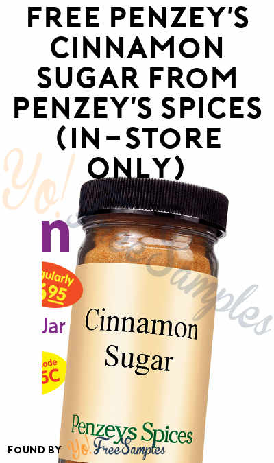 FREE Penzey's Cinnamon Sugar From Penzey's Spices (In-Store Only)
