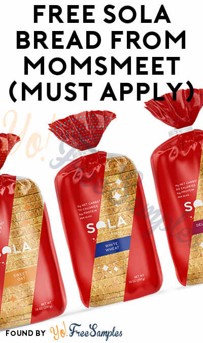 FREE Sola Bread From MomsMeet (Must Apply)