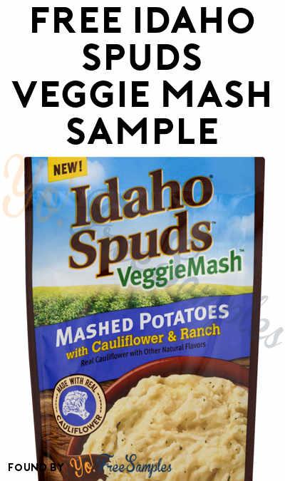 FREE Idaho Spuds VeggieMash Sample (Must Apply)