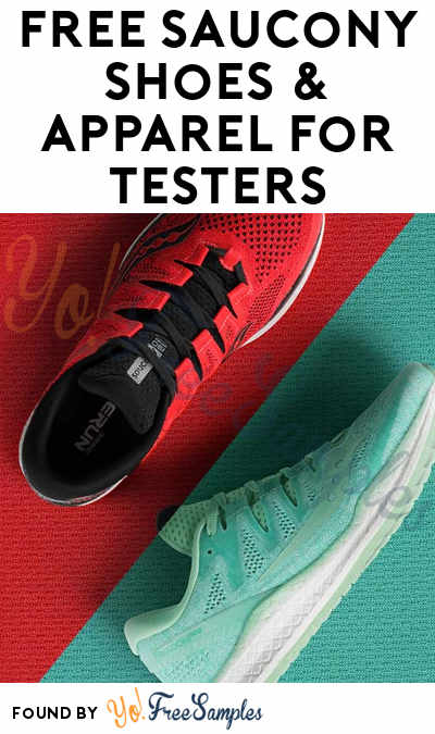 Possible FREE Saucony Shoes & Apparel For Product Testers (Must Apply)