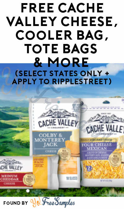 FREE Cache Valley Cheese, Cooler Bag, Tote Bags & More (Select States Only + Apply To RippleStreet)