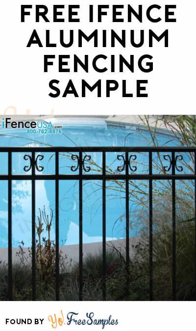 FREE iFence Aluminum Fencing Sample