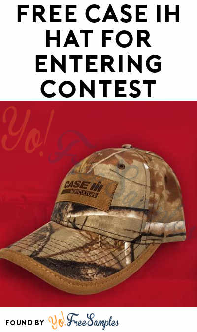 FREE Case IH Hat For Entering Contest [Verified Received By Mail]