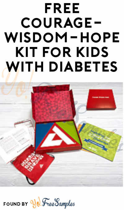 FREE Courage-Wisdom-Hope Kit For Kids With Diabetes
