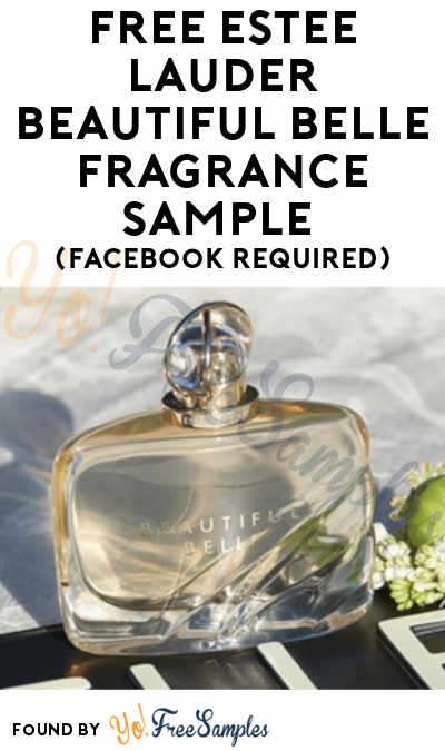 Back! FREE Estee Lauder Beautiful Belle Fragrance Sample (Facebook Required)