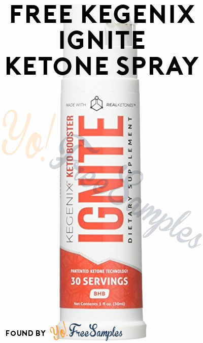 FREE Kegenix IGNITE Ketone Spray