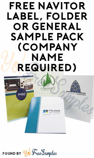 FREE Navitor Label, Folder or General Sample Pack (Company Name Required)
