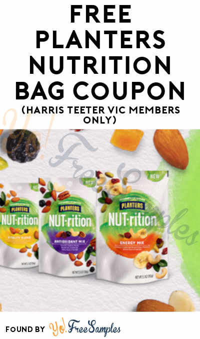 FREE Planters NUTrition Bag Coupon (Harris Teeter VIC Members Only)