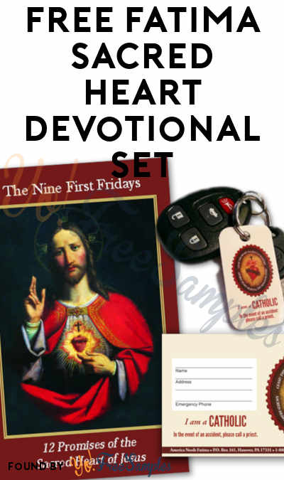 FREE Fatima Sacred Heart Devotional Set