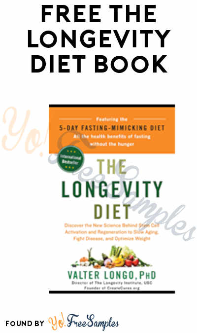 FREE The Longevity Diet Book