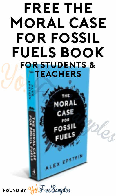 FREE The Moral Case For Fossil Fuels Book For Students & Teachers