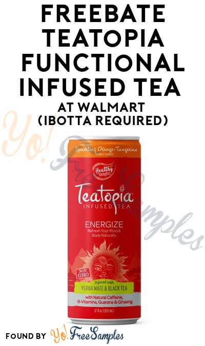 FREEBATE Teatopia Functional Infused Tea At Walmart (Ibotta Required)