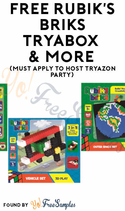 FREE Rubik's Briks TryaBox & More (Must Apply To Host Tryazon Party)
