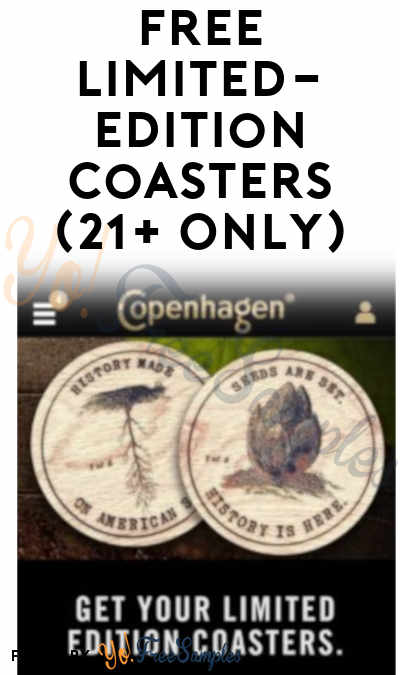 Back In Stock If You Missed It At Noon EST! FREE Limited-Edition Coasters (21+ Only) [Verified Received By Mail]