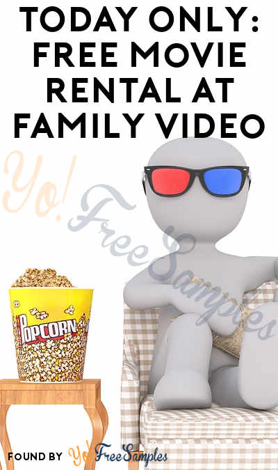 TODAY 8/9 ONLY: FREE Movie Rental At Family Video