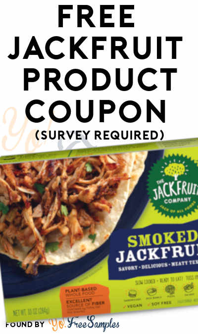 FREE Full-Size Jackfruit Product Coupon (Survey Required)