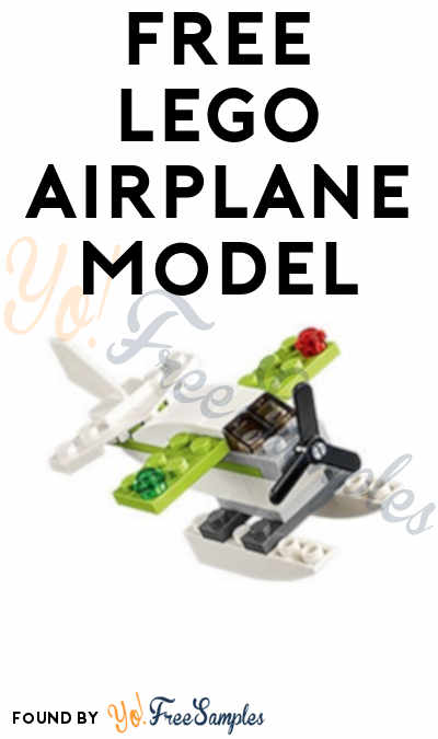 Registration Open: FREE LEGO Airplane Model From Mini Model Build Event September 11th & 12th