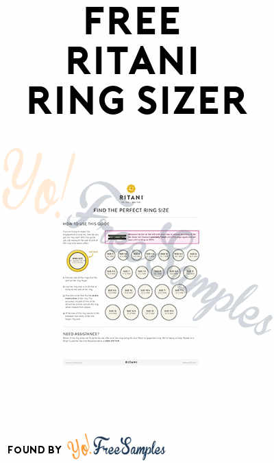 FREE Ritani Ring Sizer