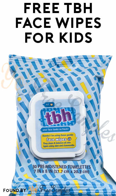 FREE TBH Face Wipes
