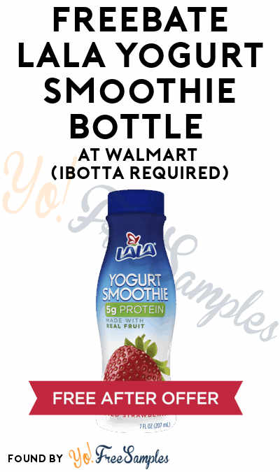 FREEBATE LaLa Yogurt Smoothie Bottle At Walmart (Ibotta Required)