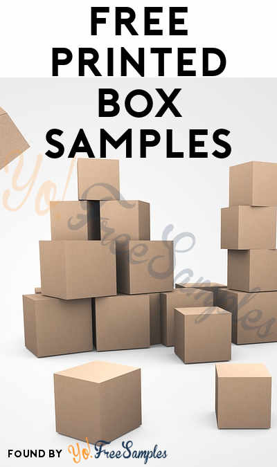 FREE Printed Box Samples
