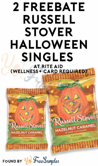 2 FREEBATE Russell Stover Halloween Singles At Rite Aid (Wellness+ Card Required)