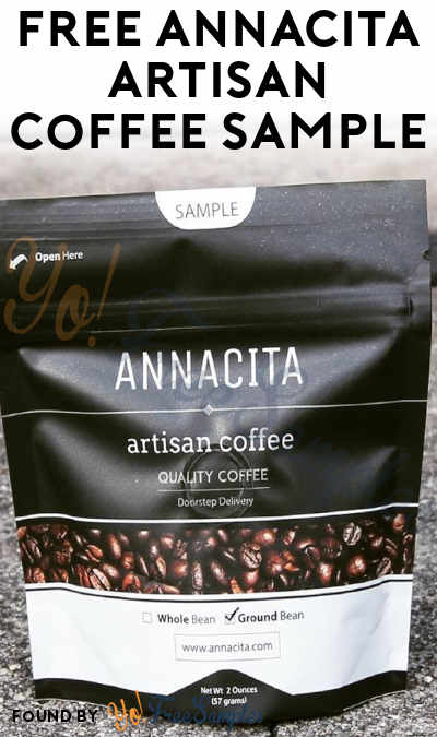 FREE Annacita Artisan Coffee Sample