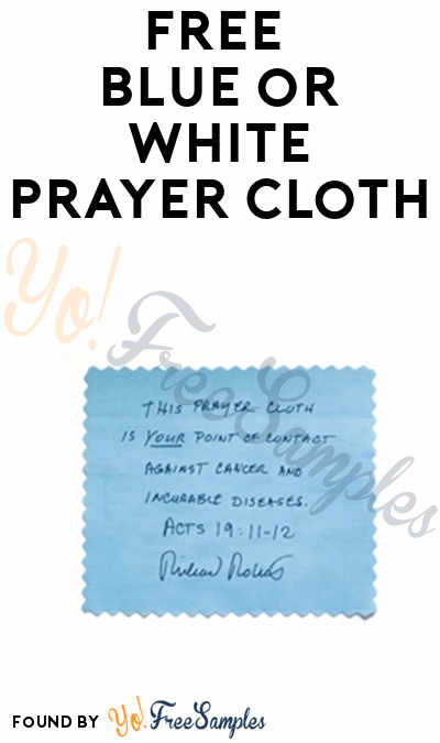 FREE Blue or White Prayer Cloth